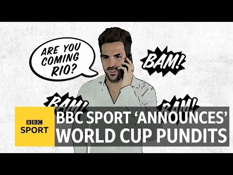 Fabregas, Lampard & Drogba: BBC 'announces' superstar World Cup signings - BBC Sport