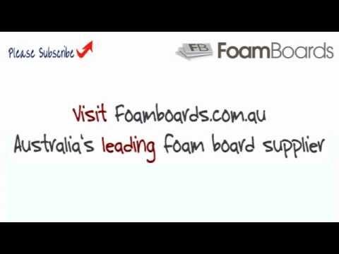 Foam Board Supplier has Sheet and Cut to Size Foam Core Boards