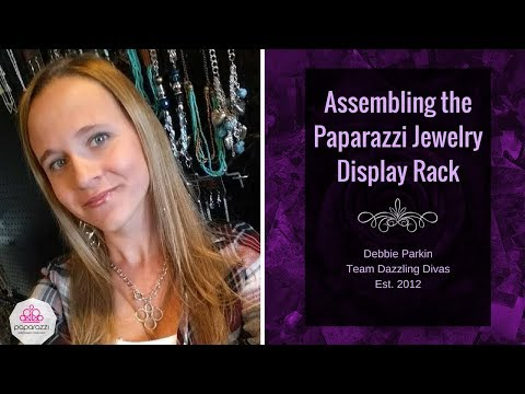 Assembling the Paparazzi Jewelry Display Rack