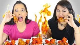 BUFFALO WILD WINGS HOT WINGS CHALLENGE ft MARIALE