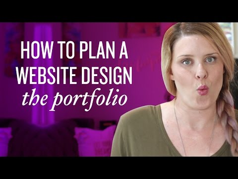 3 Steps to Create an Awesome Portfolio Page / Part 5: How to Plan Your Website Design