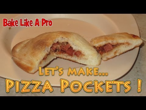 How To Make Pizza Pockets - Pizza pies ! Fun for the kids !
