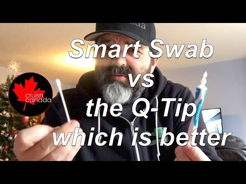 Which Works Better? Smart Swab vs Q-Tip.