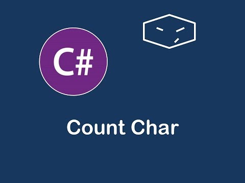 count char in c#