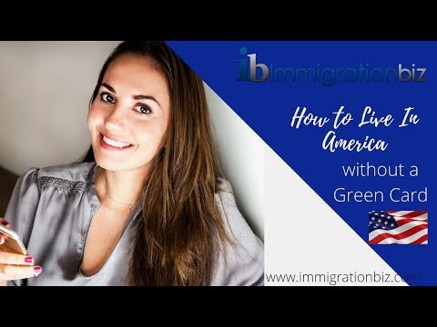 HOW TO LIVE IN AMERICA WITHOUT A GREEN CARD🗽🇺🇸🎯