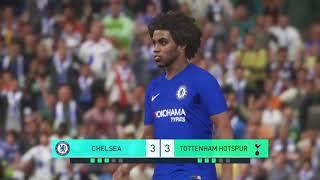 CHELSEA VS TOTTENHAM | EPL English Premier League | PENALTY SHOOTOUT!!!  GAMEPLAY PES 2019