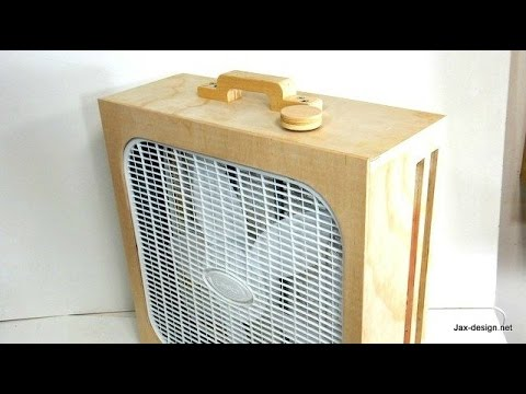 Workshop air cleaner build