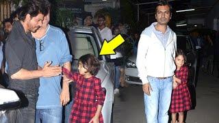 Shahrukh Khan Playing With Nawazuddin Siddiqui