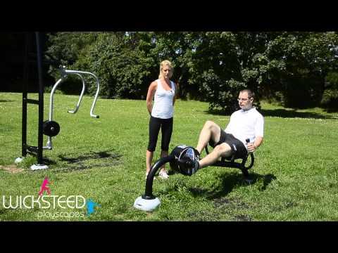 Recumbent Bike - Outdoor Fitness Equipment