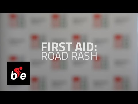 First Aid for Road Rash