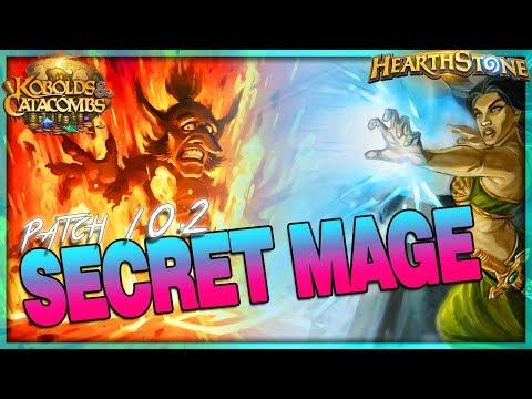 [HEARTHSTONE] Crispy Damage -  Patch 10.2 Secret Mage Deck Guide & Gameplay 🌟 Kobolds Catacombs