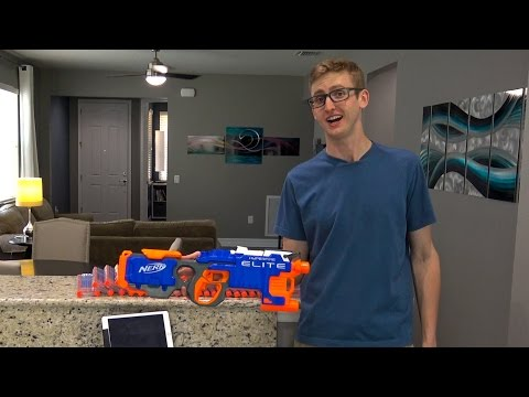 SHOOTING 430 NERF DARTS AS FAST AS POSSIBLE 5 | HYPERFIRE