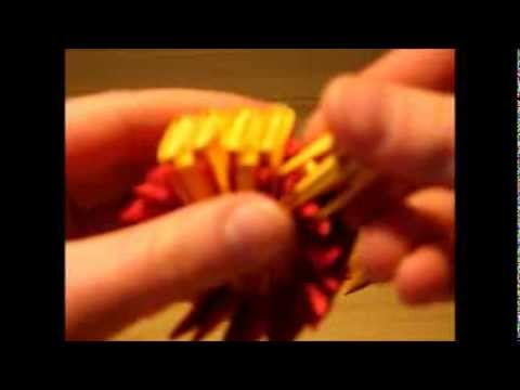 3D origami Luffy's Hat (straw hat)