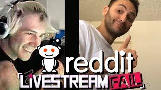 xqc reacts to reddit livestreamfail with chat episode 4 eeiyx