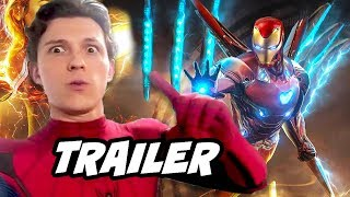 Download Spider-Man Far From Home Trailer 2 - Avengers Endgame Iron Man Easter Eggs Breakdown Video