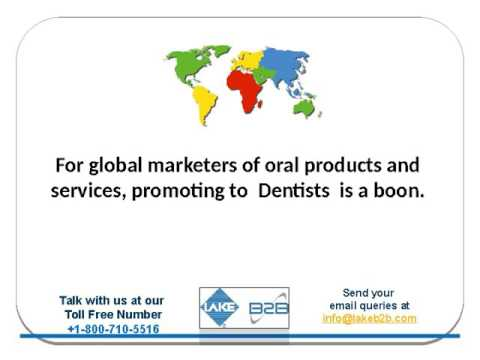 How to get Dentist Email List Addresses? | Business Mailing List from Lake B2B