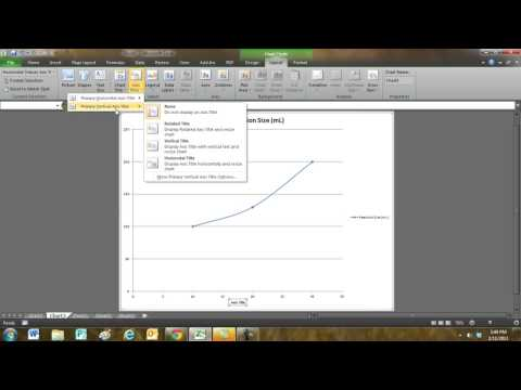 Excel Charts: Adding labels to an XY Scatter Chart