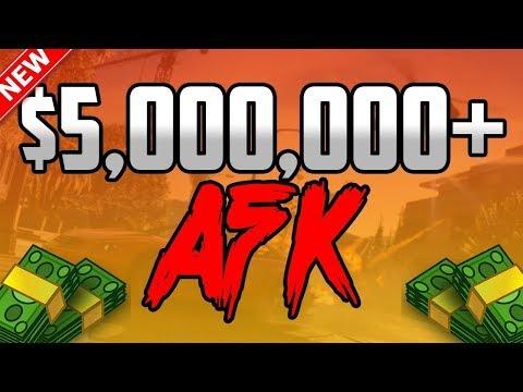 💰 MILLIONEN DOLLAR AFK VERDIENEN! UNLIMITED MONEY GLITCH💰NEW MONEY JOB IN GTA ONLINE!💰