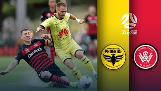 Wellington Phoenix vs Western Sydney Wanderers FC   Round 9