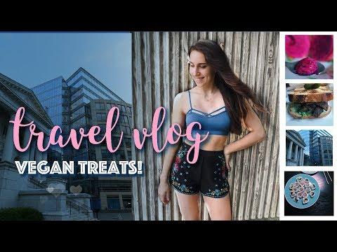 Vegan Treats Travel Vlog | Philadelphia, DC, Raleigh| Michelle Mills