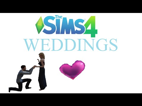 The Sim 4 How to: Weddings, wedding interactions, & eloping
