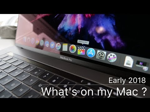 What's on my Mac - Early 2018