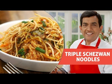 Triple Schezwan Noodles With Master Chef