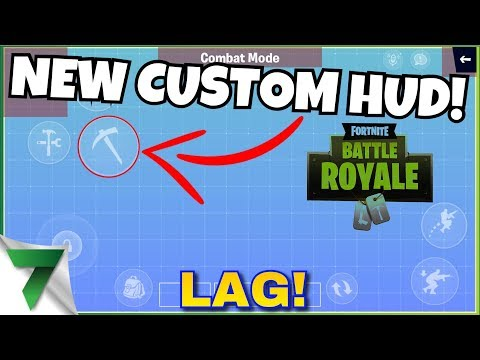 NEW UPDATE, NEW CUSTOMIZE HUD and lag?!   Fortnite Mobile
