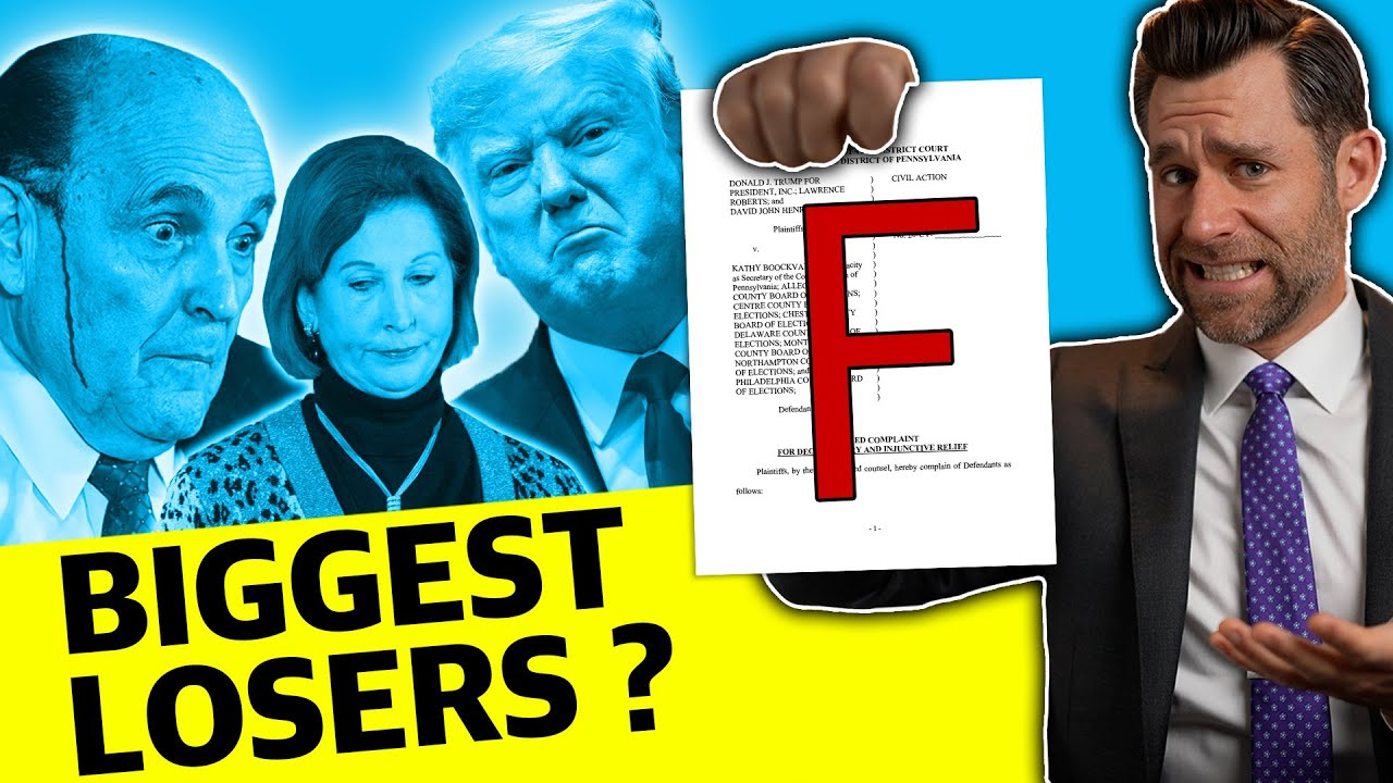 Election Lawsuits Meltdown… With Prejudice!