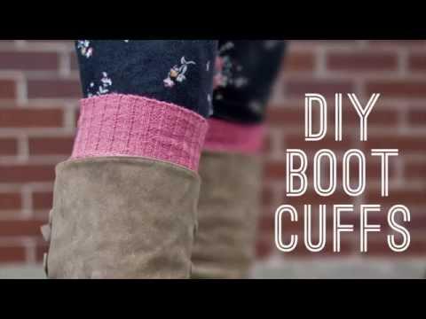 DIY Boot Cuffs - Step-by-Step Tutorial