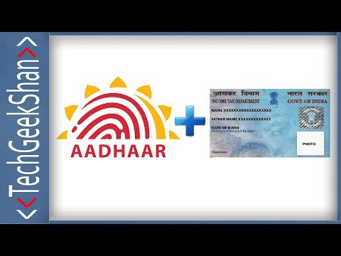 Link Your Aadhaar with your PAN Online   Web