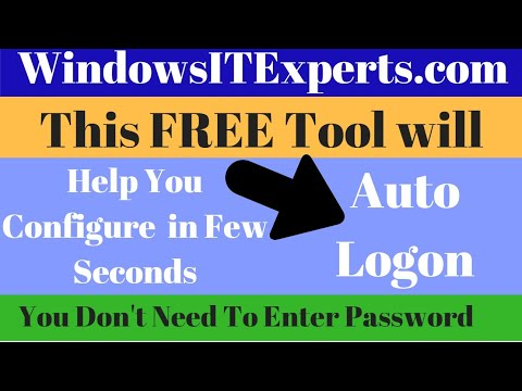 Auto Login in Windows 7 with new and easy way in domain Environment   WindowsITExperts com