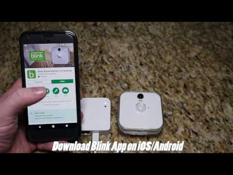 Blink Wireless Security Camera Unboxing Setup Overview