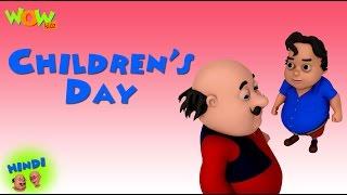 Children's Day- Motu Patlu in Hindi WITH ENGLISH, SPANISH & FRENCH SUBTITLES