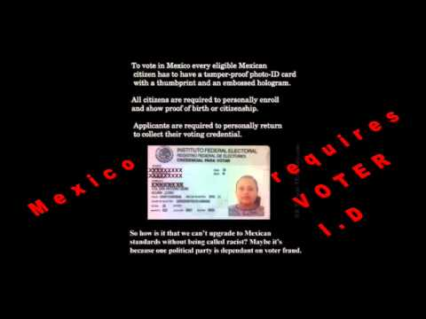 Help get voter ID requirement in California pds