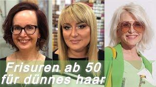 Frisuren fur dunnes haar ab 60
