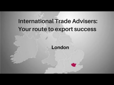 London: Your route to export success