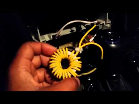 Use inductor as a AC filter in your car