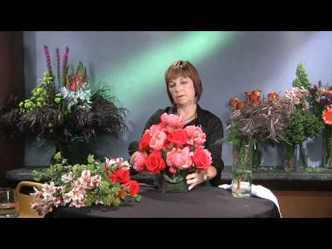 Round Arrangement - GWC Floral Design with Gail Call AIFD