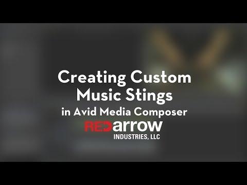 Creating Custom Music Stings in Avid Media Composer