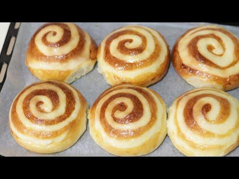 custard buns/cream buns recipe--Cooking A Dream