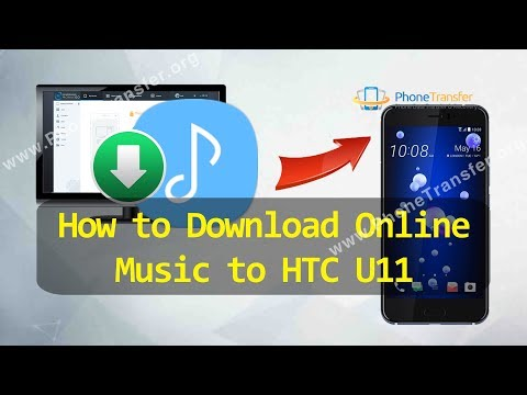 How to Download Online Music to HTC U11