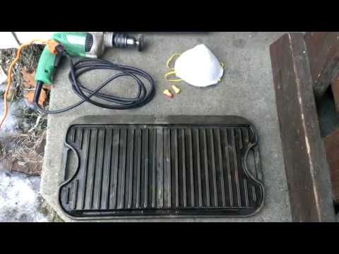 Cleaning a Cast Iron Grill/Griddle