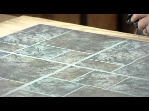 How to Clean Vinyl Flooring Before Installation of New Vinyl Tiles : Working on Flooring