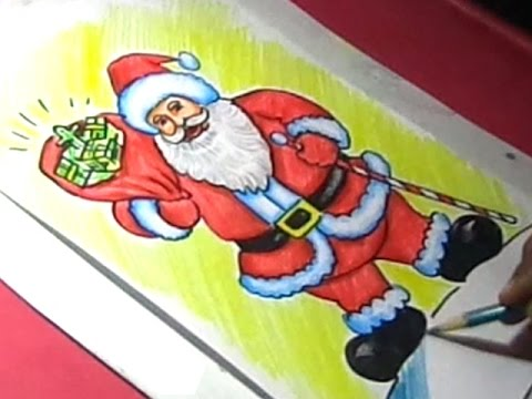 How to Draw Christmas Santa Clause Drawing Step by Step