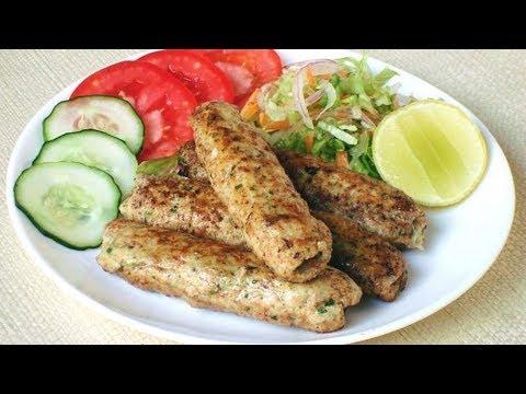 Cheese Filled Chicken Seekh Kebab Recipe | Chicken Cheese Seekh Kebab | Seekh Kabab