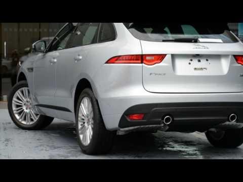 2017 Jaguar F-PACE X761 MY17 30d AWD R-Sport Indus Silver 8 Speed Sports Automatic Wagon