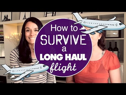 HOW TO SURVIVE A LONG HAUL FLIGHT w/ Love and London
