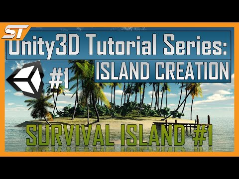 Creating a Survival Game in Unity: Part 1 - Island Creation