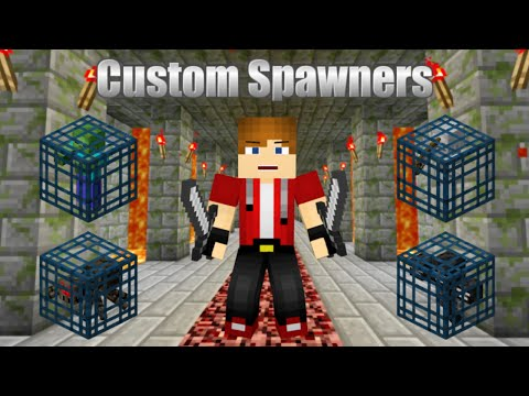 How To Get Custom Mob Spawner (No Mods 1.7+) Minecraft